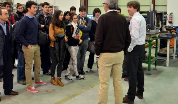 Alumnos del IES Galileo visitan nuestras instalaciones