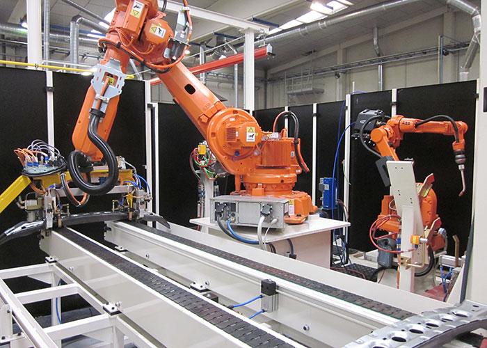 Celdas robotizadas Benteler