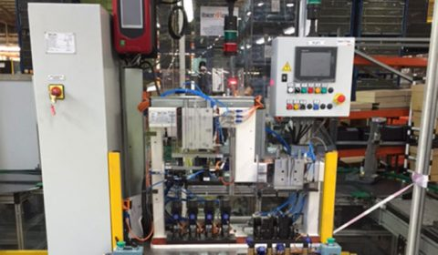 Ibermaq | Máquina de control de estanqueidad Renault