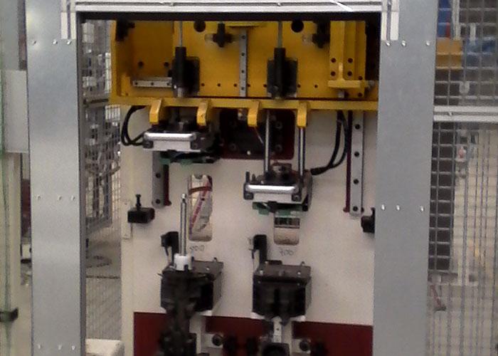 Máquinas de compresión de muelles